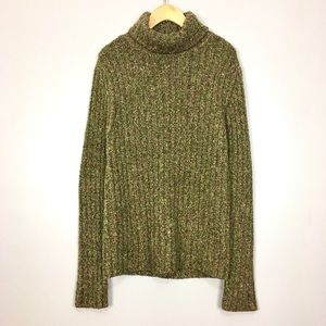 Royal Robbins Ribbed Boucle Cowl Neck Sweater